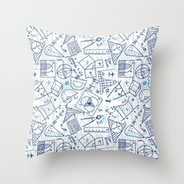 School Chemical #3 Throw Pillow