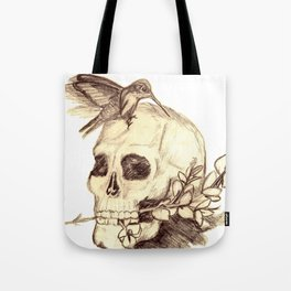 flying away with the time Tote Bag