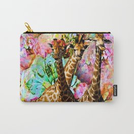 GIRAFFE TRIO Carry-All Pouch