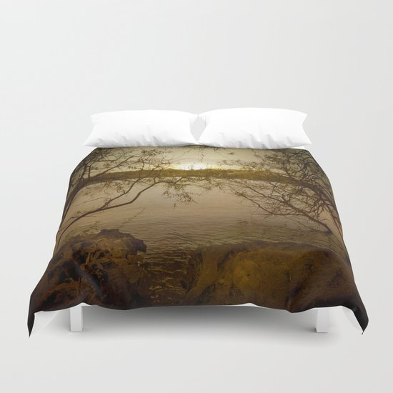 I am moving closer to your side Duvet Cover