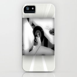 Sit N' Spin iPhone Case