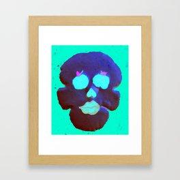Apple of My Eye Skull  Framed Art Print