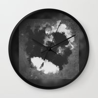 portal Wall Clocks featuring Portal by Stephan Brusche