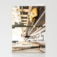 street Stationery Cards featuring Street by Sébastien BOUVIER