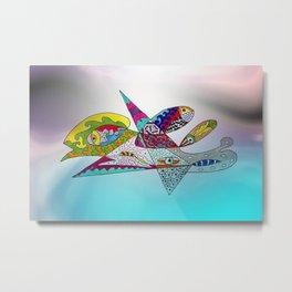fantastic geometrical forms -3- Metal Print