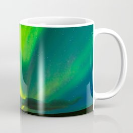 Looking for the light - Iceland Coffee Mug