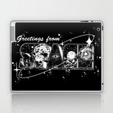 Greetings From Space Laptop & iPad Skin