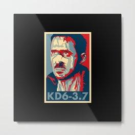 """KD6-3.7 """"Hope"""" Poster Metal Print"""