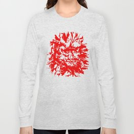 face11 red Long Sleeve T-shirt