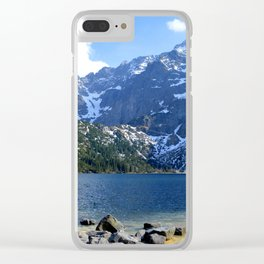 A Landscape Divine Clear iPhone Case