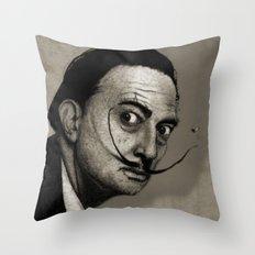 Salvador Dalí. Throw Pillow
