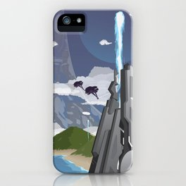 Installation 04 (Halo) Travel Poster iPhone Case