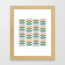 art deco pattern #2 Framed Art Print