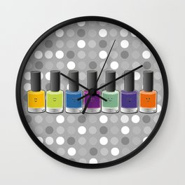 Colour happy Wall Clock