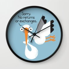 Delivery Policy Wall Clock