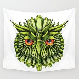 Crystal Owl EDC Wall Tapestry