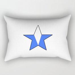 flag of nicaragua 4- Nicaraguans,Nicaragüense,Managua,Matagalpa,latine. Rectangular Pillow
