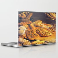 bread Laptop & iPad Skins featuring Bread by Richard McGee