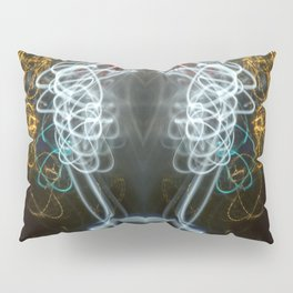 Symmetry of Light in Colour Pillow Sham