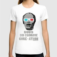gore T-shirts featuring Bubs 3D Zombie Gore-athon by Iamzombieteeth Clothing