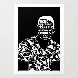 Freddie Gray - Black Lives Matter - Series - Black Voices Art Print