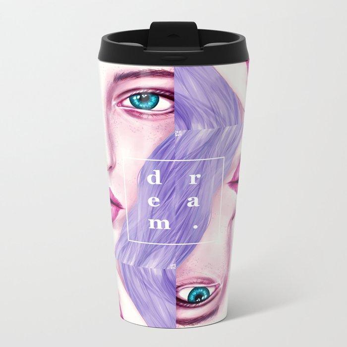 GIRL Metal Travel Mug