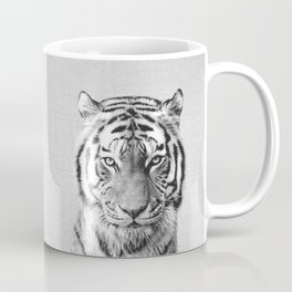 Tiger - Black & White Coffee Mug