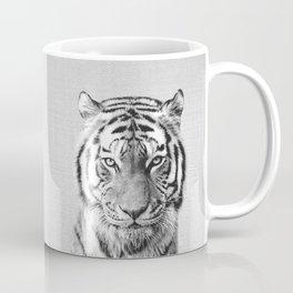 Tiger - Black & White Coffee Mug