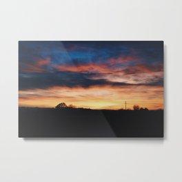 My lovely sunset Metal Print