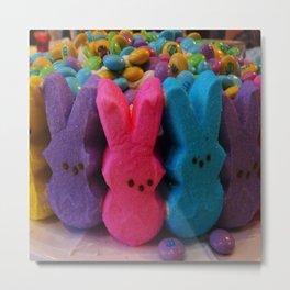Sugar Bunny Metal Print