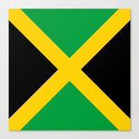 jamaica Canvas Prints featuring Jamaica by RickART