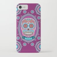 mexican iPhone & iPod Cases featuring Mexican Skull by Xonomitl