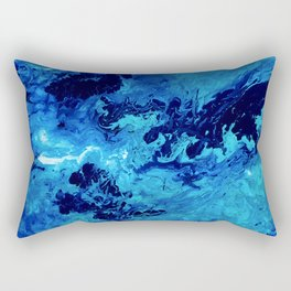 Ocean Waves Rectangular Pillow
