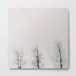 Minimal Winter #1 Metal Print