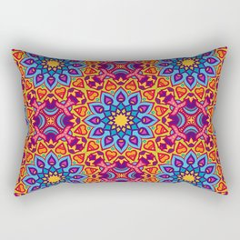 Joyful Ethnic Patterns of Celebration: Version 4 Rectangular Pillow