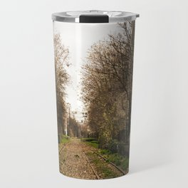 You said hello to the trees, it made me smile Travel Mug