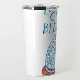 Le Chat Bleu Travel Mug