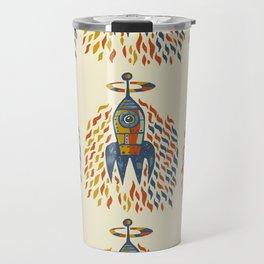 Self-firing rocket Travel Mug