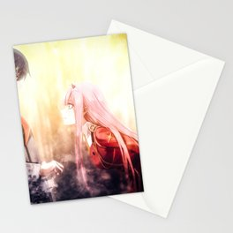 Darling in the Franxx   Hiro Stationery Cards