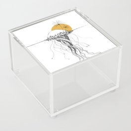 The Island - Minimal line Acrylic Box