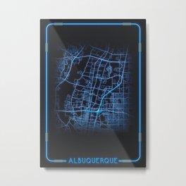 Albuquerque City Metal Print
