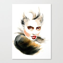 Red Eye Canvas Print