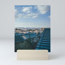 Kyoto Rooftops Mini Art Print