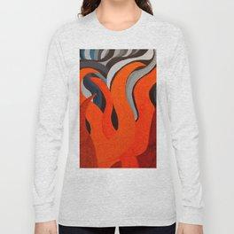 Battle of the Elements: Fire Long Sleeve T-shirt