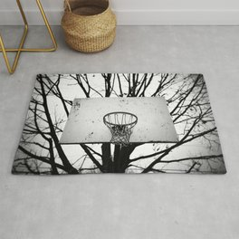 Kobe's Court in Philadelphia Rug