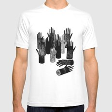 The Forest of Hands Mens Fitted Tee White MEDIUM