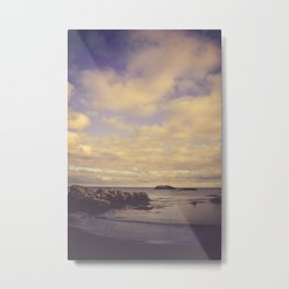 Her Dreams Stretched as Far as the Sea Was Wide Metal Print