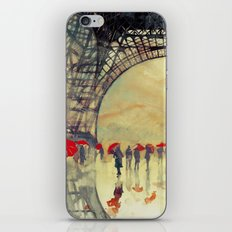 Winter in Paris iPhone Skin