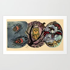 BOO!! Art Print