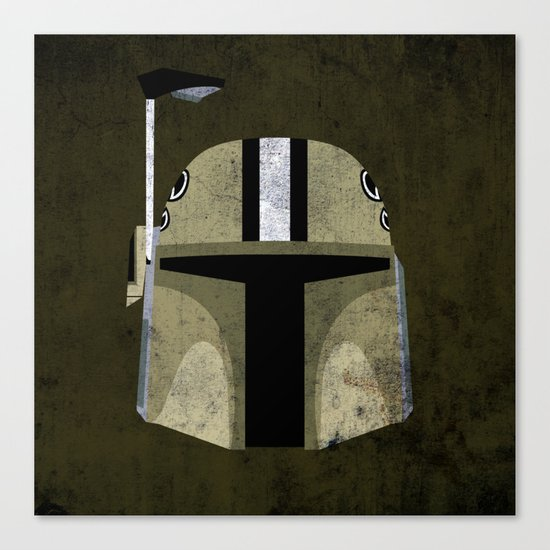 Saints Bounty Hunter Canvas Print